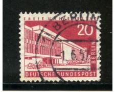1956/63 - BERLINO - 20p. UNIVERSITA' - USATO - LOTTO/29226