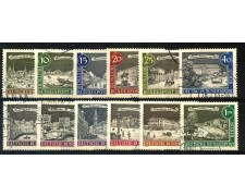 1962/63 - BERLINO - ANTICHE VEDUTE 12v.  - USATO - LOTTO/29237