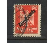 1924 - GERMANIA REICH SERVIZI - 10p. VERMIGLIO  SOPRASTAMPATO - USATO - LOTTO/29275