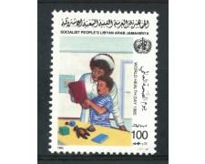 1985 - LIBIA - 100d. GIORNATA DELLA SANITA' - NUOVO - LOTTO/29293