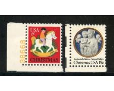 1978 - STATI UNITI - NATALE 2v. - NUOVI - LOTTO/29301