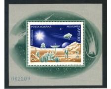 1972 - ROMANIA - MISSIONE SPAZIALE APOLLO - FOGLIETTO NUOVO - LOTTO/29346