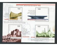 1997 - GERMANIA FEDERALE - ARCHITETTURA TEDESCA - FOGLIETTO NUOVO - LOTTO/29489