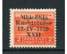 1939 - ALBANIA ITALIANA - 2q. ASSEMBLEA COSTITUENTE - LING. - LOTTO/29590