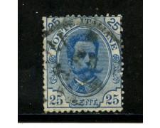1891 - LOTTO/29855 - REGNO - 25c. UMBERTO I° - USATO