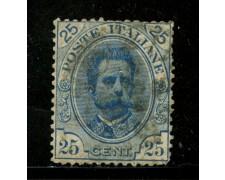 1891 - LOTTO/29856 - REGNO - 25c. UMBERTO I° - USATO