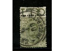 1891 - REGNO - 45c. UMBERTO I° - USATO - LOTTO/29857