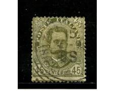 1891 - REGNO - 45c. UMBERTO I° - USATO - LOTTO/29859