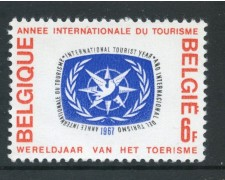 1967 - BELGIO - ANNO DEL TURISMO - NUOVO - LOTTO/29891