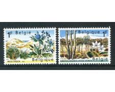 1967 - BELGIO - PROTEZIONE NATURA 2v. - NUOVI - LOTTO/29892