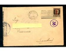 1944 - REPUBBLICA SOCIALE - 30c. SOPRASTAMPATO SU BUSTA - LOTTO/29973