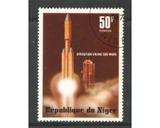 1977 - NIGER - OPERAZIONE VIKING SU MARTE - USATO - LOTTO/29998