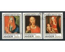 1979 - NIGER - A. DURER 4v. - USATI - LOTTO/29999