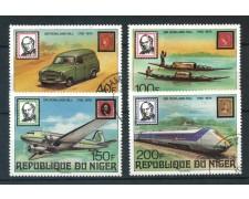 1979 - NIGER - ROWLAND HILL 4v. - USATI - LOTTO/30000