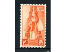 1937 - REGNO - 1,75+75c. COLONIE ESTIVE - NUOVO - LOTTO/30012