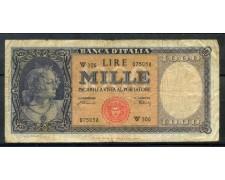 1948 - REPUBBLICA - 1000 LIRE MEDUSA - LOTTO/30018