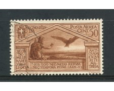 1930 - REGNO - 50c. VIRGILIO POSTA AEREA - USATO - LOTTO/30031