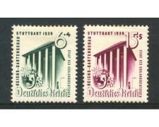 1939 - GERMANIA REICH - ESPOSIZIONE ORTICOLTURA 2v . - LING. - LOTTO/30054