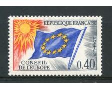 1963/71 - FRANCIA - 40c. CONSIGLIO D'EUROPA - NUOVO - LOTTO/ 30066