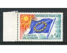 1963/71 - FRANCIA - 50c. CONSIGLIO D'EUROPA - NUOVO - LOTTO/ 30067