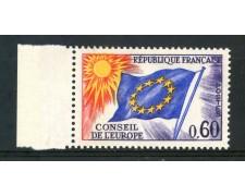 1963/71 - FRANCIA - 60c. CONSIGLIO D'EUROPA - NUOVO - LOTTO/ 30068