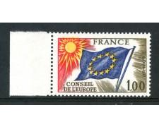 1976 - FRANCIA - 1 Fr. CONSIGLIO D'EUROPA - NUOVO - LOTTO/ 30070