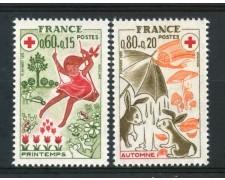 1975 - FRANCIA - PRO CROCE ROSSA 2v. - NUOVI - LOTTO/30072