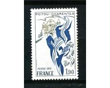 1975 - FRANCIA - 1,90 Fr. REGIONI POITOU CHARENTES - NUOVO - LOTTO/30076