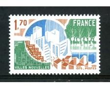 1975 - FRANCIA - 1,70 Fr. PIANO DI SVILUPPO NUOVE CITTA' - NUOVO - LOTTO/30077