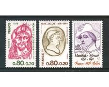 1976 - FRANCIA - PRO CROCE ROSSA 3v. - NUOVI - LOTTO/30090