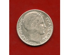 1933 - FRANCIA - 10 FRANCHI ARGENTO - LOTTO/M30098