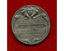 1902 - ITALIA - TORINO MEDAGLIA ESPOSIZIONE DI ARTE DECORATIVA MODERNA - LOTTO/M30123