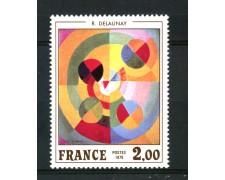 1976 - FRANCIA - 2 Fr. DELAUNAY - NUOVO - LOTTO/30081