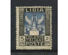 1921 - LIBIA - 5 LIRE PITTORICA - LINGUELLATO - LOTTO/24961