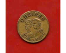 1954 - REPUBBLICA - GETTONE  FILM DESIRE' - LOTTO/M21179