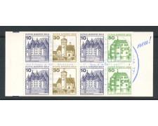 1979/80 - BERLINO - LIBRETTO CASTELLI E FORTEZZE - NUOVO - LOTTO/30197