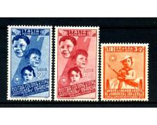 1937 - REGNO - COLONIE ESTIVE POSTA AEREA 3v - NUOVI - LOTTO/REGA105ZN