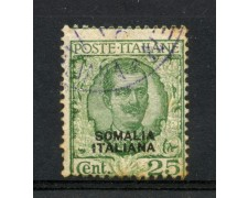 1926/30 - SOMALIA - 25c. FLOREALE - USATO - LOTTO/11898