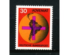 1967 - GERMANIA FEDERALE - 30p. MOVIMENTO ADVENIAT - NUOVO - LOTTO/30939