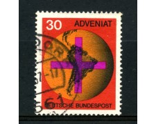 1967 - GERMANIA FEDERALE - 30p. MOVIMENTO ADVENIAT - USATO - LOTTO/30939U