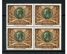 1963 - LOTTO/6423Q - REPUBBLICA - PIETRO MASCAGNI - QUARTINA NUOVI