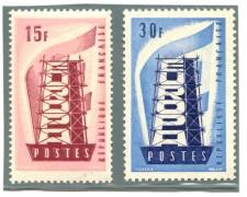 1956 - FRANCIA - EUROPA 2v. - NUOVI - LOTTO/4524