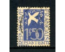 1934 - FRANCIA - COLOMBA DELLA PACE - USATO - LOTTO/FRA294U