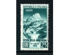 1953 - REPUBBLICA - FESTA DELLA MONTAGNA - NUOVO - LOTTO/6211