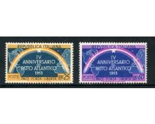 1953 - LOTTO/27236A - REPUBBLICA - PATTO ATLANTICO 2v. - NUOVI