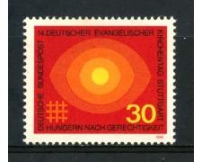 1969 - GERMANIA FEDERALE - 30p. CHIESA EVANGELICA - NUOVO - LOTTO/30963