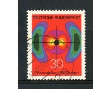 1969 - GERMANIA FEDERALE - 30p. MOSTRA RADIO-TELEVISIONE - USATO - LOTTO/30964U