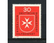 1969 - GERMANIA FEDERALE - 30p. ORDINE DI MALTA - NUOVO - LOTTO/30965