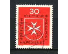 1969 - GERMANIA FEDERALE - 30p. ORDINE DI MALTA - USATO - LOTTO/30965U