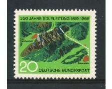 1969 - GERMANIA FEDERALE - 20p. CONDOTTO D'ACQUA SALATA - NUOVO - LOTTO/30968